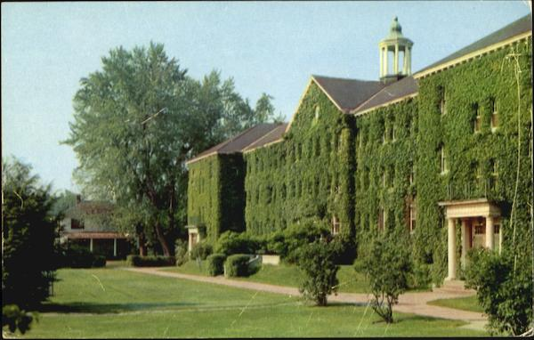 Huntress Hall, Keene Teachers College New Hampshire