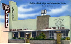 Golden State Café Roundup Room, 286 No.Main St.