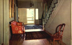 Hallway Of Arlington Shrine, Antebellum Home
