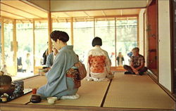 Japanese Tea Ceremony, Birmingham Botanical Gardens