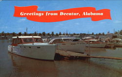 Greetings From Decatur Postcard
