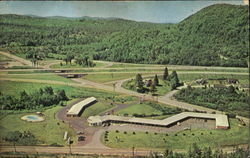 Perkins Motel And Restaurant Postcard