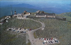 Aerial View Summit House Hotel Postcard