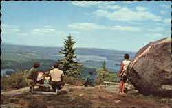 Lookout Point On Mt. Sunapee