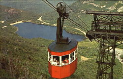 Tram-Car And Echo Lake