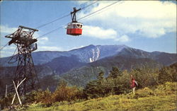 Tram-Car Approaching Summit