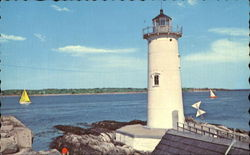 The Fort Point Lighthouse Postcard