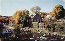 Ottauquechee River And Little Theatre