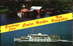 Greetings From Center Harbor Postcard