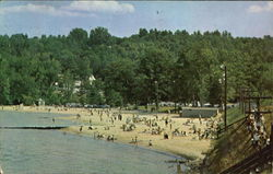 Weirs Beach Postcard
