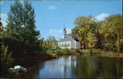 Reflections And Methodist Church Postcard