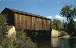 Covered Bridge Near Greenfield