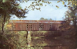 This Old Covered Bridge Still Serving The Public