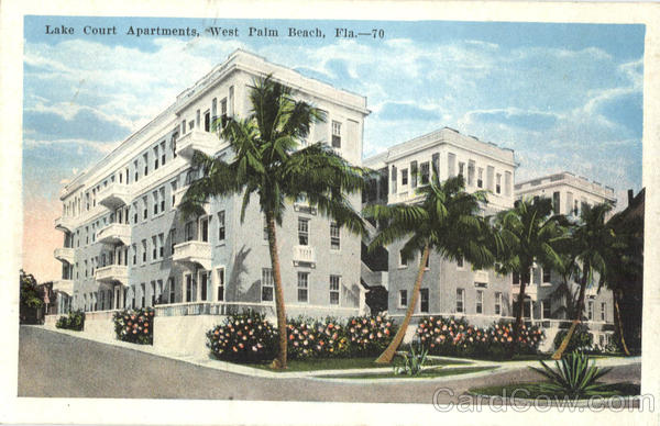 Lake Court Apartments West Palm Beach Florida