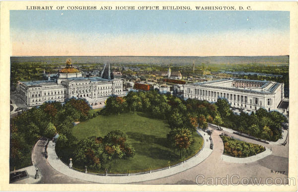 Library of Congress and House Office Building Washington District of Columbia
