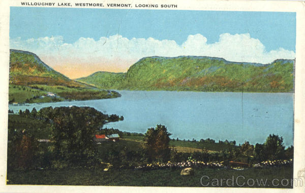 Willoughby Lake Looking South Westmore Vermont