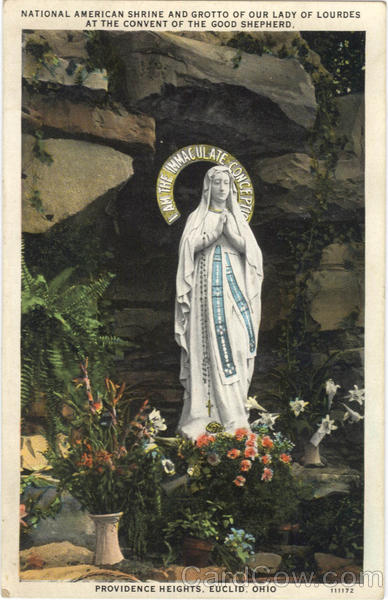 National American Shrine And Grotto of Our Lady of Lourdes at the convent of the good shepherd, Providence Heights