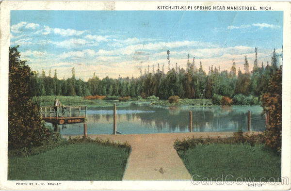 Kitch. ITI.KI.PI Spring Manistique Michigan