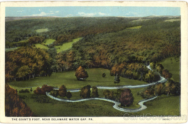 The Giant's Foot Delaware Water Gap Pennsylvania