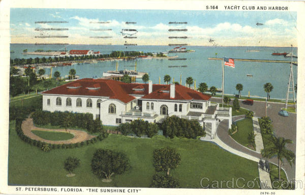 Yacht Club and Harbor St. Petersburg Florida