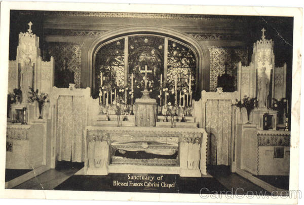 Sanctuary of Blessed Frances Cabrini Chapel New York City