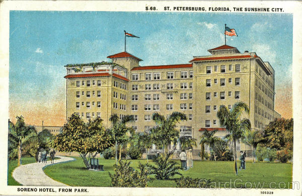 Soreno Hotel, From Park St. Petersburg Florida