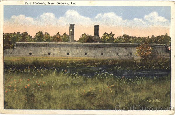Fort McComb New Orleans Louisiana