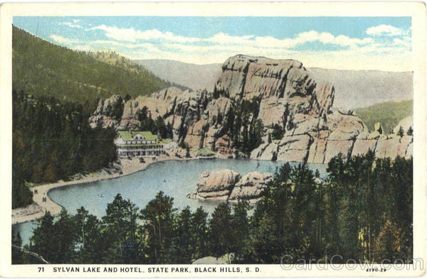 Sylvan Lake And Hotel, State Park Black Hills South Dakota