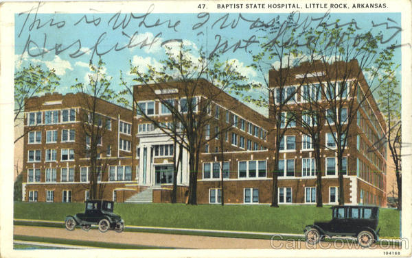 Baptist State Hospital Little Rock Arkansas