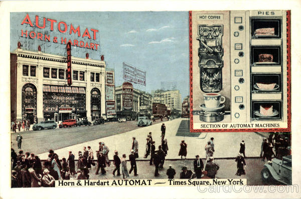 Horn & Hardart Automat, Times Square New York City