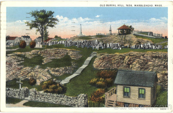 Old Burial Hill Marblehead Massachusetts