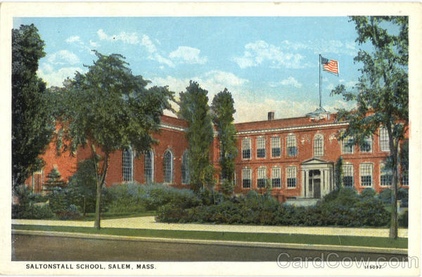 Saltonstall School Salem Massachusetts