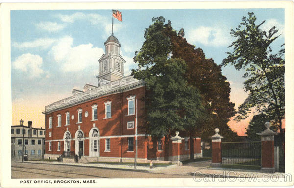 Post Office Brockton Massachusetts