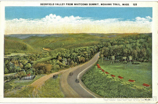 Deerfield Valley from Whitcomb Summit Mohawk Trail Massachusetts