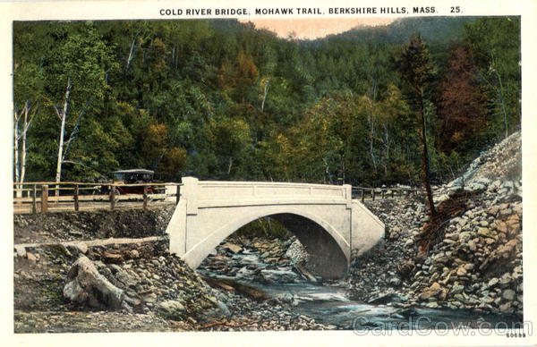 Cold River Bridge, Mohawk Trail Berkshire Hills Massachusetts