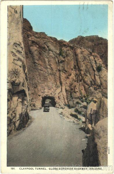 Claypool Tunnel, Globe-Superior Highway, Arizona | eBay