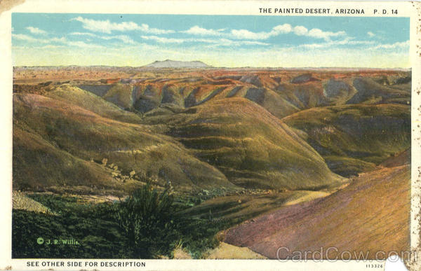 The Painted Desert Scenic Arizona