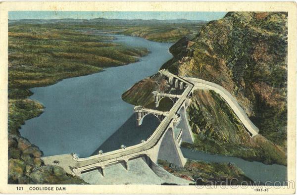 Coolidge Dam Arizona