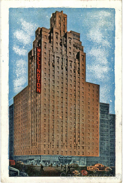 Hotel Wellington, 7th Avenue at 55th Street New York City