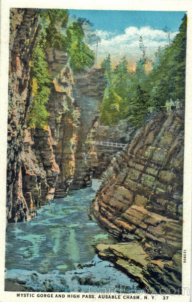 Mystic Gorge and High Pass Ausable Chasm New York