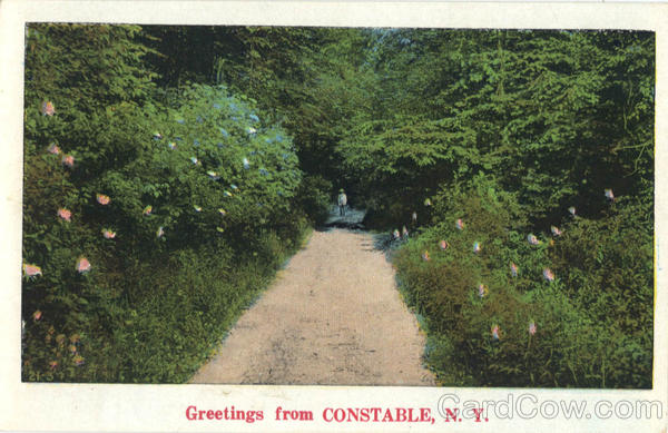 Greetings from Constable New York