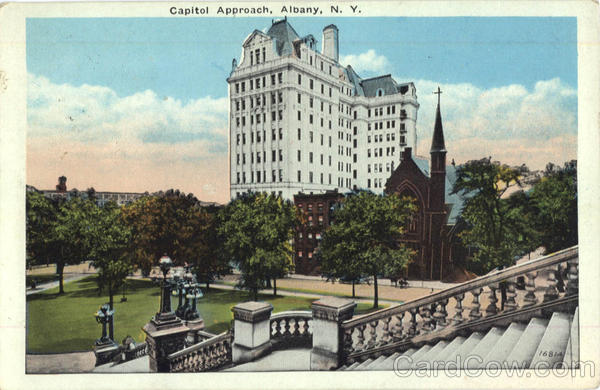 Capitol Approach Albany New York