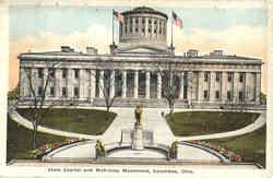 State Capitol and McKinley Monument