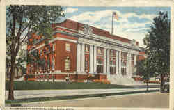 Allen County Memorial Hall Postcard
