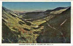 Crawford Notch From Mt. Willard Postcard
