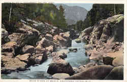 Saco River at Bemis Postcard