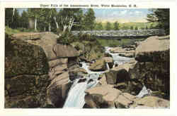 Upper Falls of the Ammonoosuc River