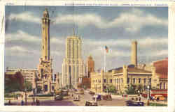 Water Tower and Palmolive Bldg, Upper Michigan Ave