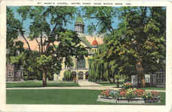 St. Mary's Chapel, Near South Bend Postcard
