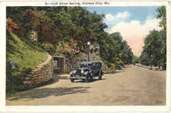 Cliff Drive Spring Postcard